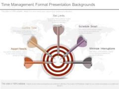 Time Management Format Presentation Backgrounds