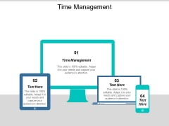 Time Management Ppt PowerPoint Presentation Summary Template Cpb