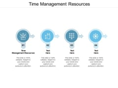 Time Management Resources Ppt Powerpoint Presentation File Guidelines Cpb
