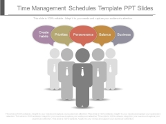 Time Management Schedules Template Ppt Slides