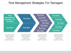 Time Management Strategies For Teenagers Ppt PowerPoint Presentation Summary Templates