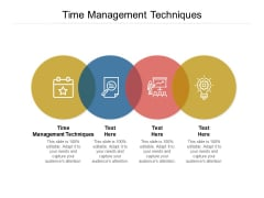 Time Management Techniques Ppt PowerPoint Presentation Styles Graphics Cpb Pdf