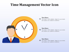 Time Management Vector Icon Ppt PowerPoint Presentation Inspiration Introduction PDF