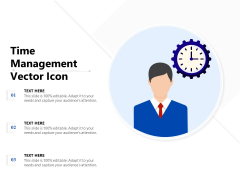 Time Management Vector Icon Ppt PowerPoint Presentation Inspiration Show PDF