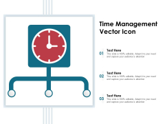 Time Management Vector Icon Ppt PowerPoint Presentation Pictures Background