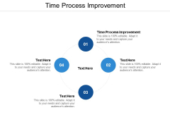 Time Process Improvement Ppt PowerPoint Presentation Summary Samples Cpb