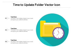 Time To Update Folder Vector Icon Ppt PowerPoint Presentation Gallery Smartart PDF