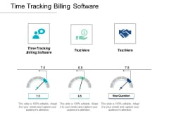 Time Tracking Billing Software Ppt PowerPoint Presentation Infographics File Formats Cpb