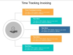 Time Tracking Invoicing Ppt PowerPoint Presentation Professional Graphics Example Cpb