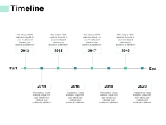 Timeline 2013 To 2020 Ppt PowerPoint Presentation Pictures