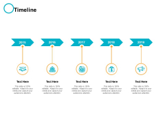 Timeline 2015 To 2019 Ppt PowerPoint Presentation File Sample
