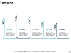 Timeline 2015 To 2019 Ppt PowerPoint Presentation Ideas Demonstration