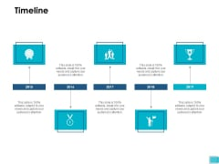 Timeline 2015 To 2019 Ppt PowerPoint Presentation Styles Example Introduction
