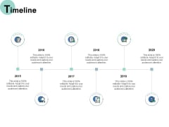 Timeline 2015 To 2020 Ppt PowerPoint Presentation Icon Visual Aids