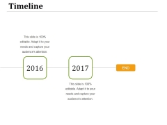 Timeline 2016 Ppt PowerPoint Presentation Example