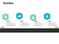 Timeline 2016 To 2019 Ppt PowerPoint Presentation Visual Aids Show