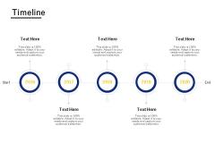 Timeline 2016 To 2020 Ppt PowerPoint Presentation Icon Diagrams