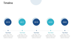 Timeline 2016 To 2020 Ppt PowerPoint Presentation Outline Guide