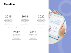 Timeline 2016 To 2020 Ppt PowerPoint Presentation Outline Icons