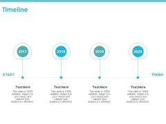 Timeline 2017 To 2020 Ppt PowerPoint Presentation Outline Slides