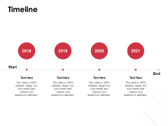 Timeline 2018 To 2021 Ppt PowerPoint Presentation Ideas Inspiration