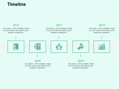 Timeline 5 Stage Process Ppt PowerPoint Presentation Deck