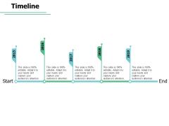 Timeline 5 Years Roadmap Ppt PowerPoint Presentation Inspiration Smartart