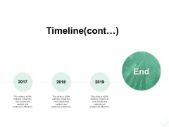 Timeline Cont Three Year Ppt PowerPoint Presentation Portfolio Slide Download