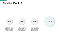 Timeline Cont Three Year Process Ppt PowerPoint Presentation Summary Design Templates