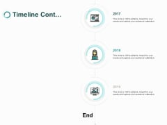 Timeline Cont Three Years Ppt PowerPoint Presentation Icon Graphics Design