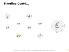 Timeline Contd 2016 To 2020 Ppt PowerPoint Presentation Layouts Introduction