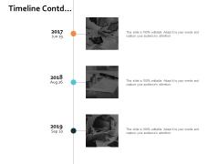 Timeline Contd Planning Process Ppt PowerPoint Presentation Slides Ideas