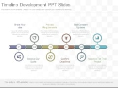 Timeline Development Ppt Slides