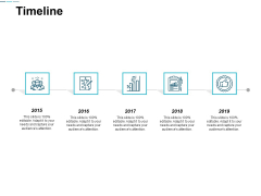 Timeline Five Year Process Ppt Powerpoint Presentation File Master Slide