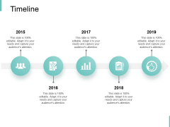 Timeline Five Year Process Ppt PowerPoint Presentation Professional Design Inspiration