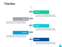Timeline Five Year Process Ppt Powerpoint Presentation Slides Skills
