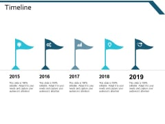 Timeline Five Year Process Ppt Powerpoint Presentation Styles Elements