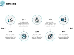 Timeline Five Years Roadmap Ppt PowerPoint Presentation Portfolio Guidelines