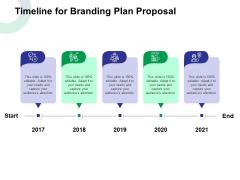 Timeline For Branding Plan Proposal Ppt Outline Designs Download PDF