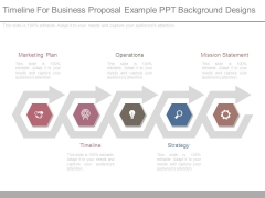 Timeline For Business Proposal Example Ppt Background Designs