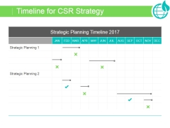 Timeline For Csr Strategy Ppt PowerPoint Presentation Background Image