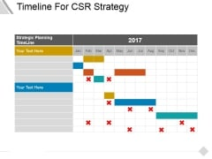 Timeline For Csr Strategy Ppt PowerPoint Presentation Visual Aids Infographics