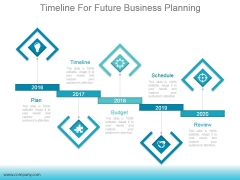 Timeline For Future Business Planning Ppt PowerPoint Presentation Clipart