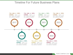 Timeline For Future Business Plans Ppt Background Designs