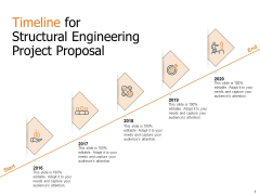 Timeline For Structural Engineering Project Proposal Ppt Pictures Example Introduction PDF