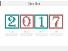Timeline For Year 2017 For Business Powerpoint Slides