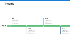 Timeline Four Year Ppt PowerPoint Presentation Layouts Layout Ideas