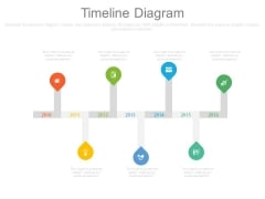 Timeline Infographic Chart For Business Agenda Powerpoint Slides