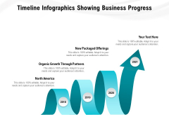 Timeline Infographics Showing Business Progress Ppt PowerPoint Presentation Pictures Elements PDF