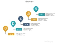 Timeline Ppt PowerPoint Presentation Icon